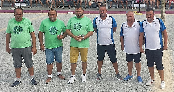 International à pétanque de Ruoms - La finale