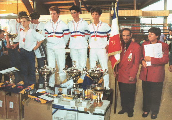 Chpt. France juniors 1993 � Vichy