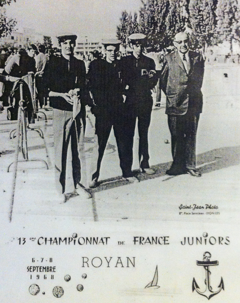 Chpt. de France juniors 1968 à Royan