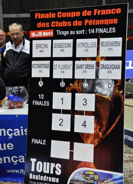 Finale de la Coupe de France des Clubs 2017 à Tours