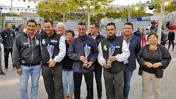 9ème International à pétanque de Ruoms 2017, les finalistes