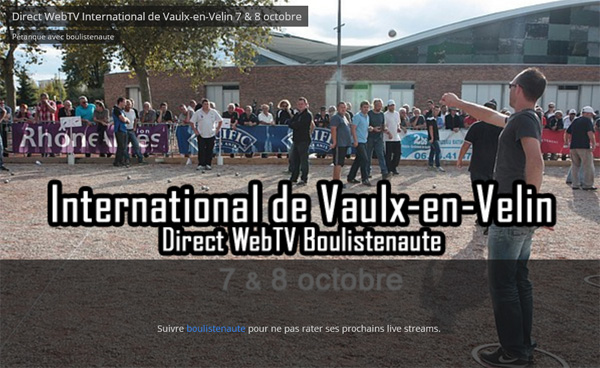 International de Vaulx-en-Velin ce week-end avec WebTV