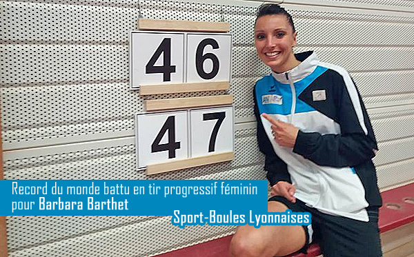 Record du monde battu pour Barbara Barthet !
