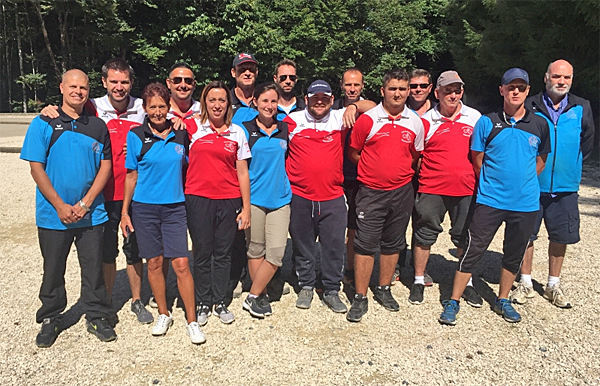 1er tour de la Coupe de France des Clubs de pétanque