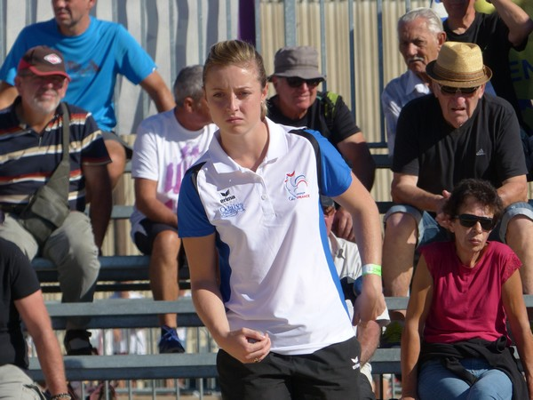 National féminin de Bourg-Saint-Andéol 2018 : Caroline Bourriaud