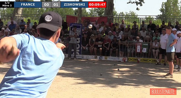 National de Pézenas 2019, le jubilé ! Demi-finale FRANCE vs ZISKOWSKI