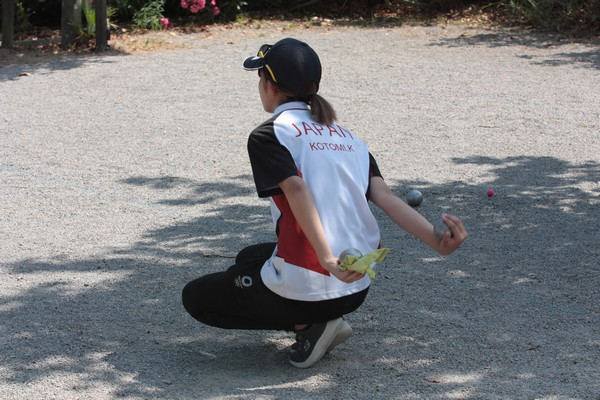 International à pétanque de Palavas-les-Flots direct WebTV 100% féminin ! Le Japon