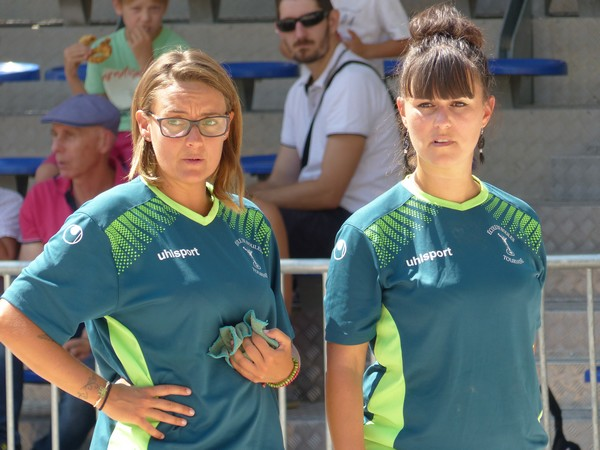 International à pétanque de Draguignan 2019 - Mélanie JULLIEN et Emilie AUDIBERT