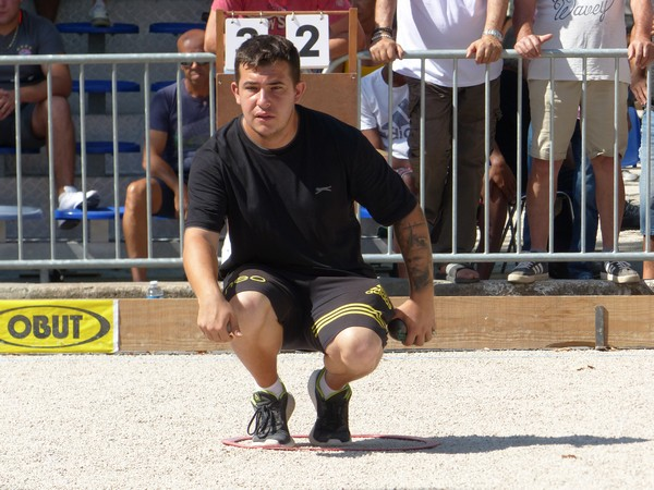 International à pétanque de Draguignan 2019 - Espagne David TUYA