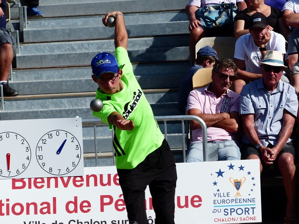 National à pétanque de Chalon-sur-Saône 2019 - Photo  131