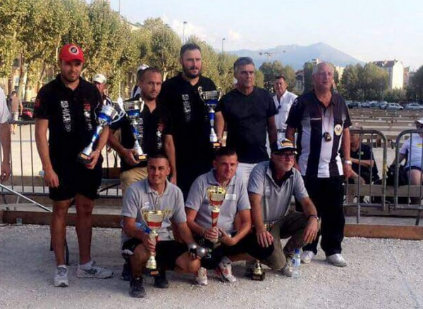 3ème international à pétanque de Grenoble 2019, le podium