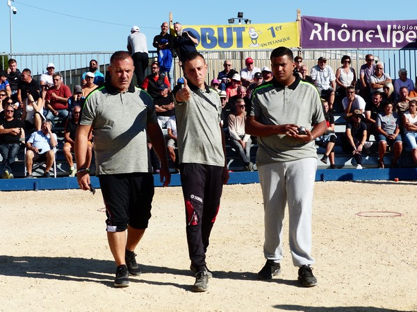 International à pétanque de Bourg-Saint-Andéol 2019 - Equipe MALATESTA