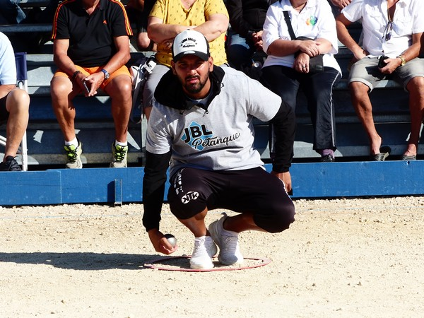 International à pétanque de Bourg-Saint-Andéol 2019 - Dylan CANO