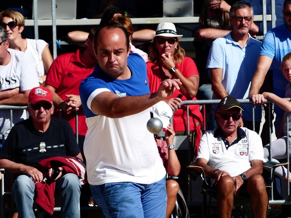 International à pétanque de Bourg-Saint-Andéol 2019 - Angy SAVIN