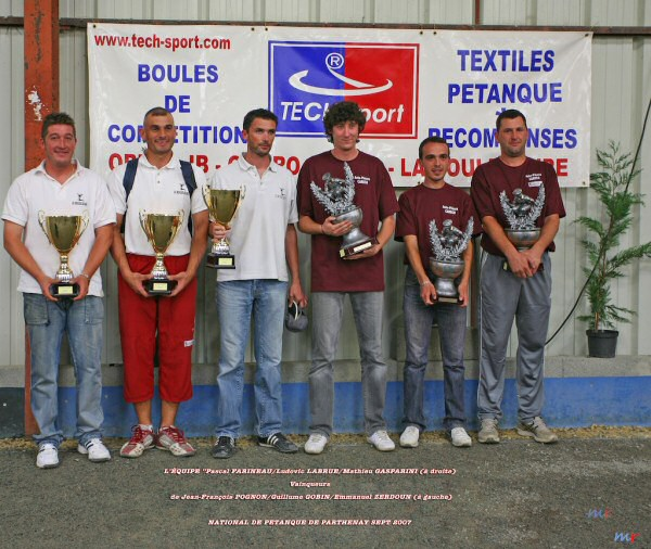 National de Pétanque de Parthenay