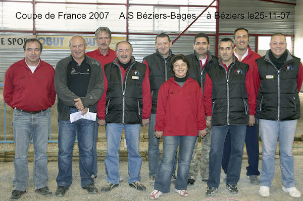 B�ziers contre Bages, zone 2