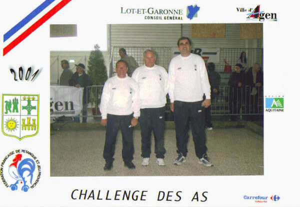 Challenge des As JP à Agen 2001