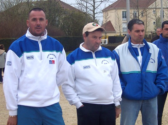 Qualif triplette ligue IDF 2008.