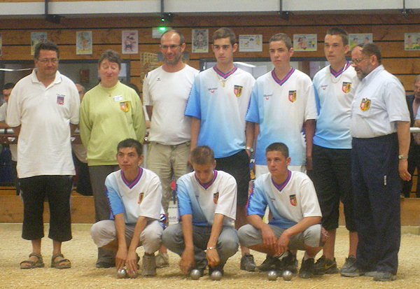 Chpt. de Rh�ne-Alpes juniors 2008
